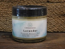Lavender Muscle Relief Gel-cbd