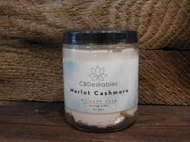Whipped Soap CBD - Merlot Cashmere