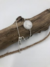 Adjustable Moonstone Bracelet