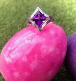 Amethyst Ring Size 6 3/4