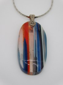 Oval Surfite Necklace