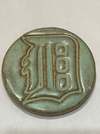 Magnet Detroit D Ceramic 1.5 inch Round