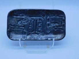 Tray Old D Metalic Gray/bronze