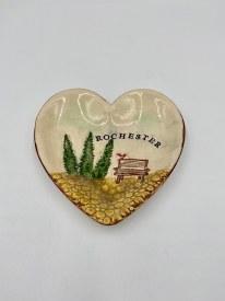 Rochester Ceramic Heart Dish