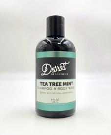 Tea Tree Mint Shampoo Body Wash 8oz
