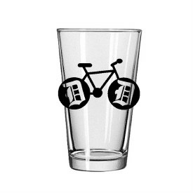 Glass Pint Detroit Bike