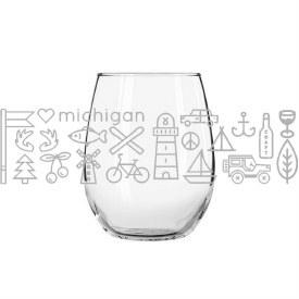 Glass Wine MI Icons
