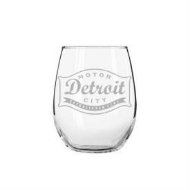 "Glass Wine Buckle ""M.D.C"""