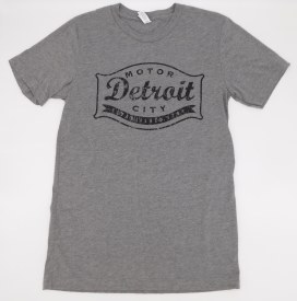 Detroit Motor City Established 1701 T-shirt