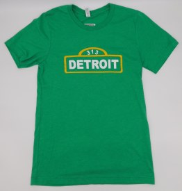 Detroit Street Sign T-shirt