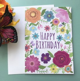 Birthday - Graphic Floral
