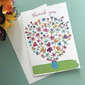 Thank You - Bouquet Vase