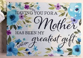 Mothers-Greatest Gift Canvas 14x10