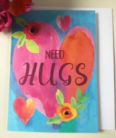 Need Hugs Greeting Card