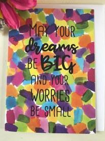 Greeting Card - Big Dreams