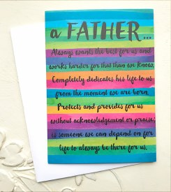 Father's Day Card - Father Wants Best