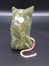 Tiny Monster Green Kitty