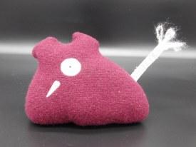 Tiny Monster Burgendy w/tail