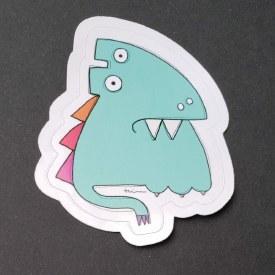 Sticker Monster Salty