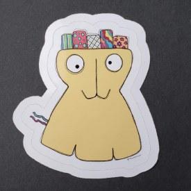 Sticker Monster Burr