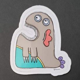 Sticker Monster Chester
