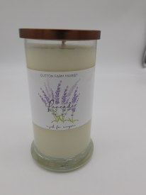 20 Oz Lavender Candle Soy
