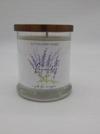 12 Oz Lavender Candle Soy