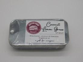 Coconut/lemongrass Lip Balm