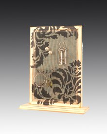 Earring Holder Base Damask Design