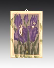 Earring Holder Classic Hanging - Iris
