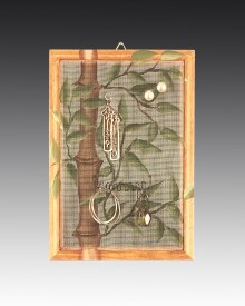 Earring Holder Classic Hanging - Bamboo