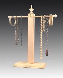 Handmade Wooden Jewelry Tree