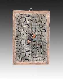 Classic Earring Holder Hanging - Swirl Heart
