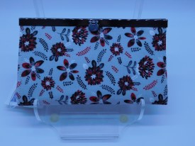 Red Blk Wh Flor Diva Wallet.94