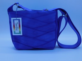Seat Belt Purse - Crossbody Periwinkle