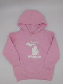 Made In Mi Hoodie Sz 2 Pink