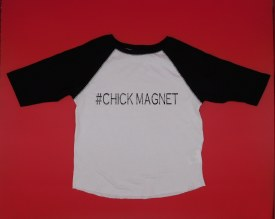 Chick Magnet B-ballT 5/6T Black Sleeves