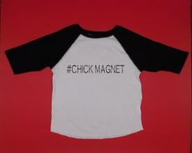 Chick Magnet B-ballT 5/6T Black Sleeves