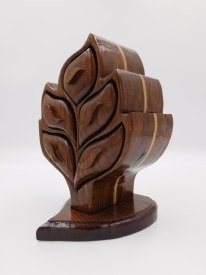Hardwood Tree Jewelry Box