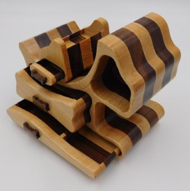 Hardwood Dog Jewelry Box
