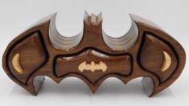 Hardwood Bat Jewelry Box