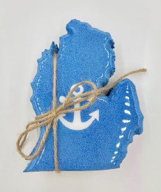 Anchor Mitten Coaster Set