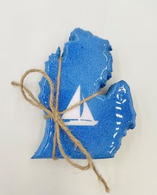 Sailboat Mitten Coaster Set