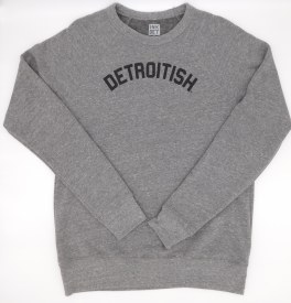 Sweatshirt Detroitish XS Gray