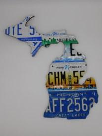 "Map-MI Plates, Large 22"" x 22"""
