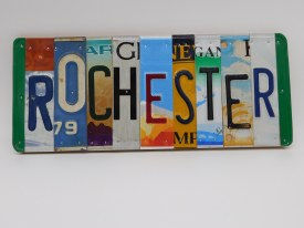 """Word Sign, """"Rochester"""""""