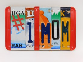 "Word Sign, ""#1 Mom"""
