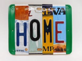 "Word Sign, ""Home"""