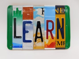 "Word Sign, ""Learn"""