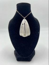 Upcycled Vintage Silverware Ghost Necklace